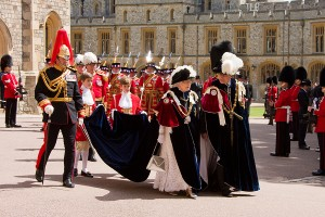 Royal Order of The Garter Procession
