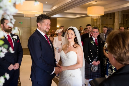 Albrighton Hall Wedding Shrewsbury Photographer
