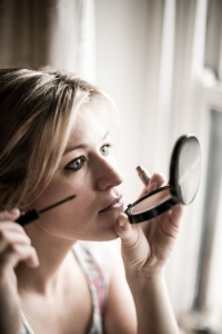 Shropshire Photographer - Bridal make-up