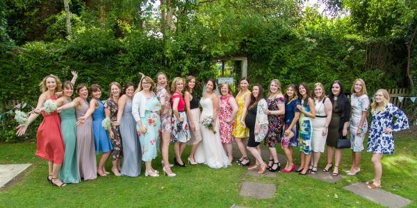 hen party wedding group