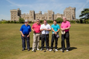 windsor castle golf event