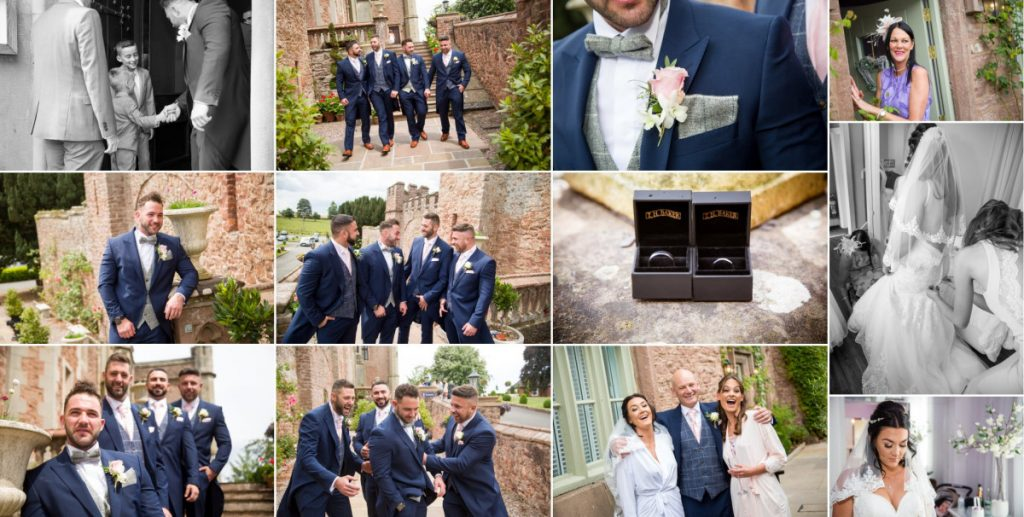 wedding rowton castle